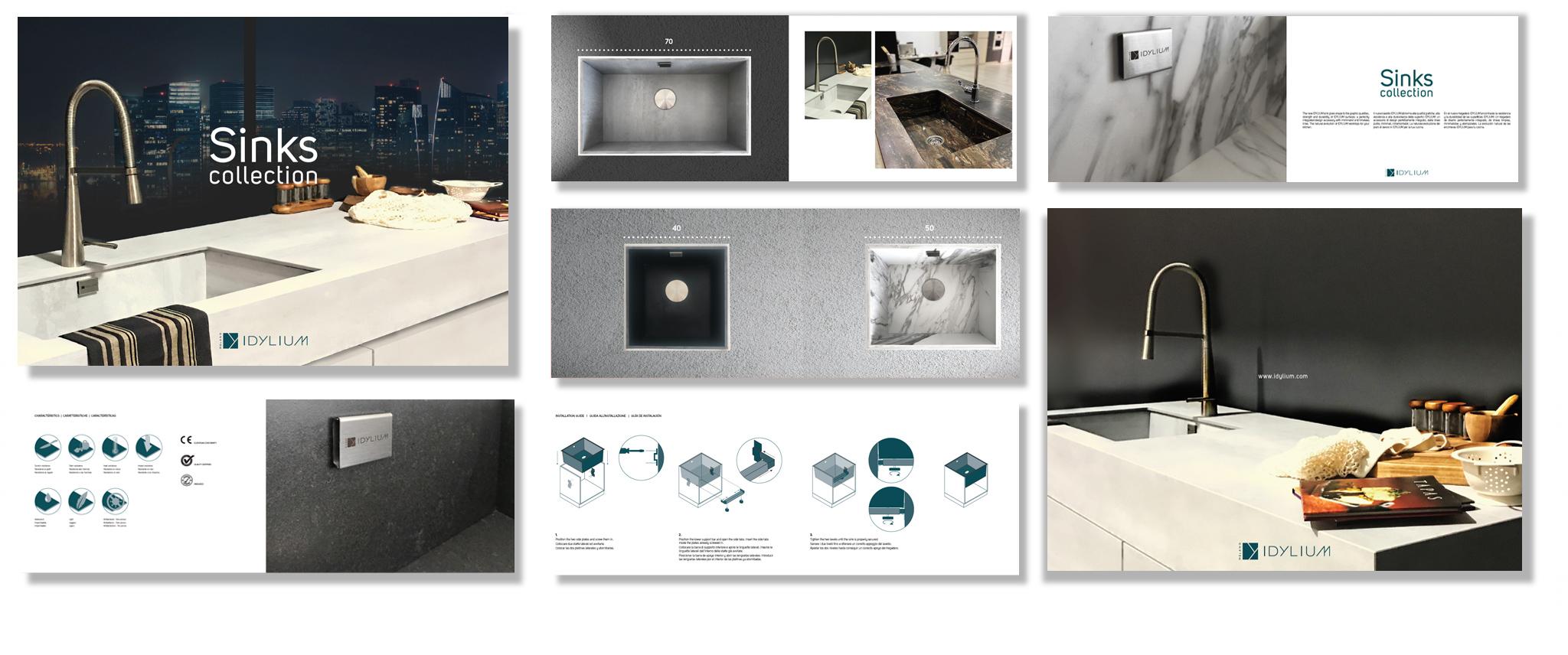 Idylium integrated SINKS catalogue